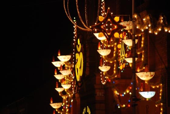 Diwali lights - Belgrave Road
